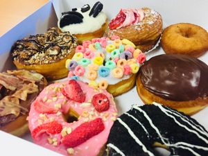 미국에서 제일 맛난 도넛