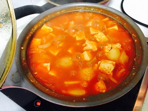 초간단 요리 고추장찌개