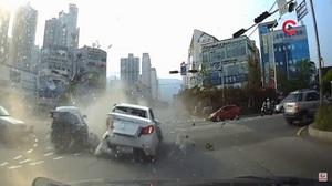 충격적인 해운대 교통사고를 보고