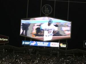 다저스 마지막 홈경기 푸익 홈런!