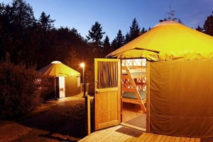 Yurt Village at Kayak Point