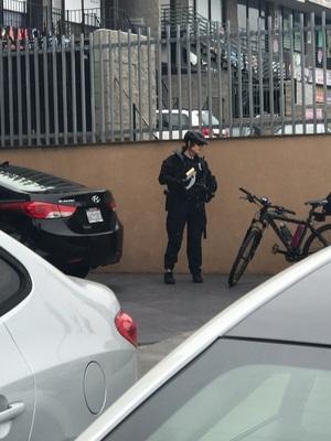 버몬트와 올림픽 여자 자전거 경찰