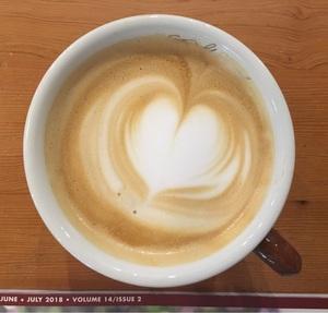 커피 라떼