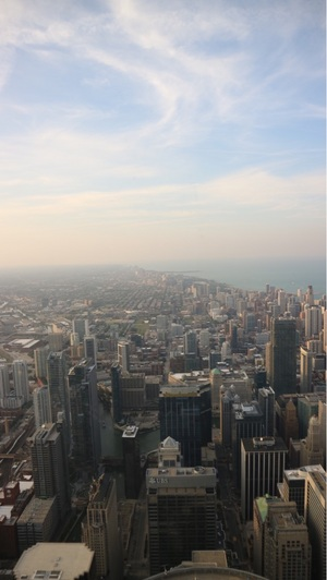멋진 시카고 전경!