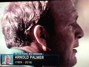 골프의 전설 위대한 아놀드 파마가 오늘 돌아가셨네요