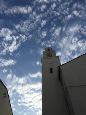 어제 LA 하늘