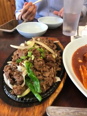 불고기 & 닭도리탕:)