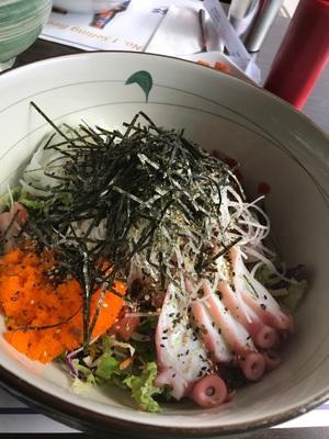 LA 맛집 활어광장 회덮밥