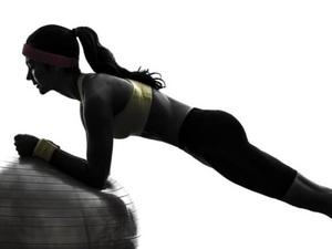 허리통증 극복 복근운동!