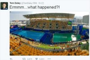 리우올림픽 물 색상 보셨어요?
