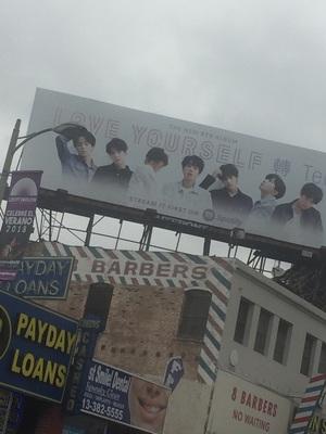 버몬트 길의 BTS 빌보드