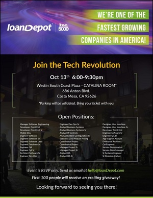 loanDepot Tech Event
