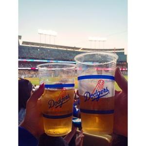 LA dodgers stadium!!