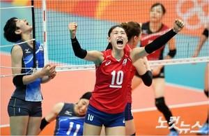 국가대표 여자 배구팀 수고 많았습니다 !