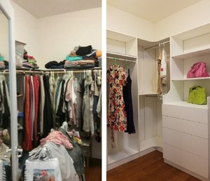 Closet Organizer 설치하시고 귀하의 주택…